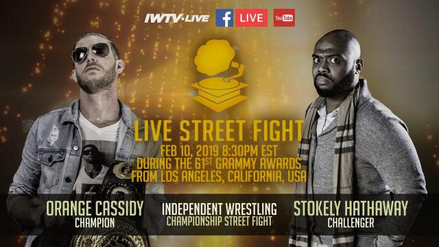Grammys Street Fight for the Independent Championship