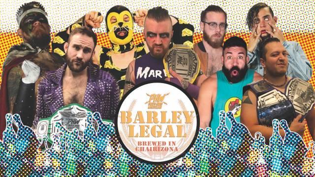 Party Hard Wrestling Barley Legal