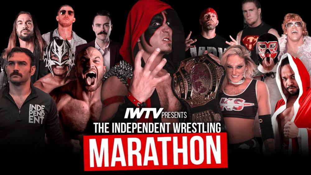 Independent Wrestling Marathon comes to IWTV this Sunday!