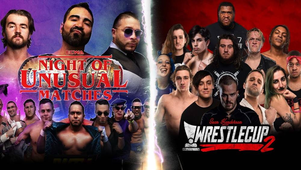 Saturday Double Feature: ECWA & Wrestlecup 2!