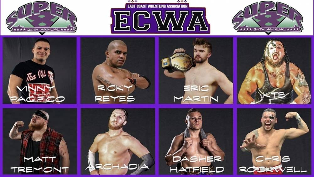 ECWA comes to IWTV - 2020 Super 8 to stream live