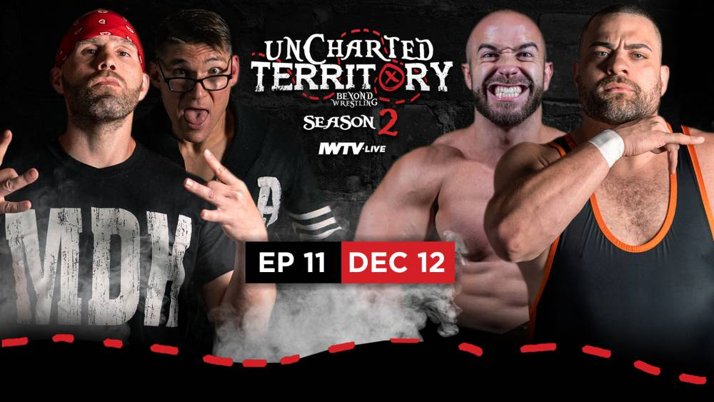 PREVIEW: John Silver & Eddie Kingston team vs Thomas Santell & Nick Gage this week!