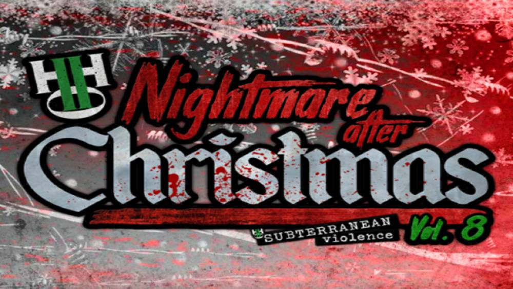 PREVIEW: H2O's Nightmare After Christmas streams live on IWTV Saturday