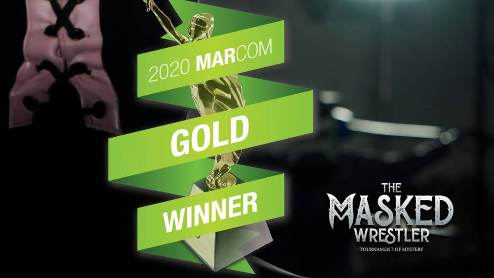"""The Masked Wrestler"" wins in the 2020 MarCom Awards"