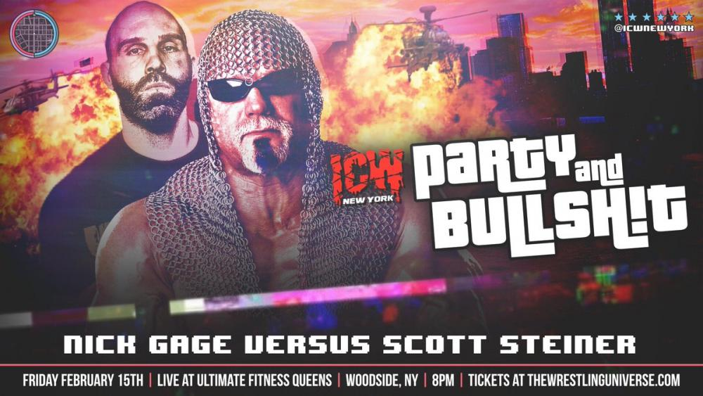 2019 Peaks Early - Scott Steiner Is Fighting Nick Gage Live On IWTV!
