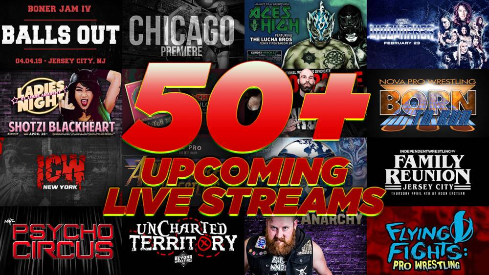 IWTV To Stream 50 Events Live Before The End Of July....And We Aren't Done Yet