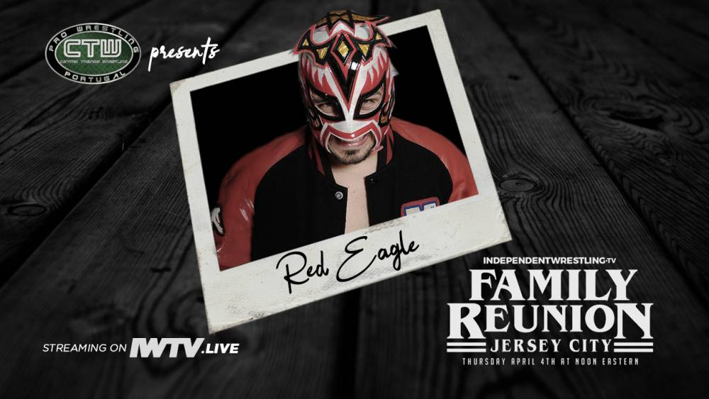 Portugese Wrestling Standout Red Eagle Returns To The United States For Family Reunion