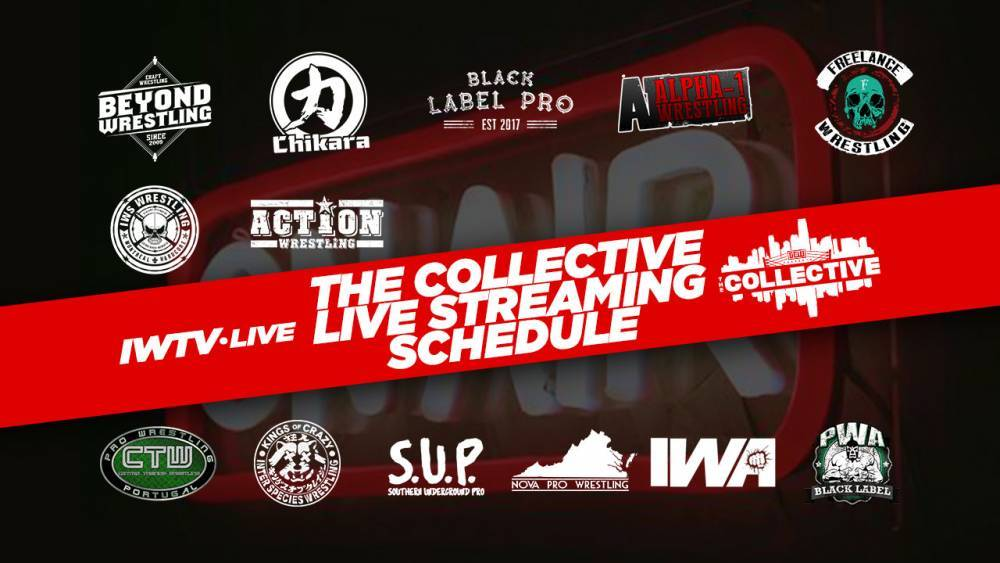 UPDATE: IWTV To Stream Six Events LIVE From The Collective Mania Week + FITE Bundle Details