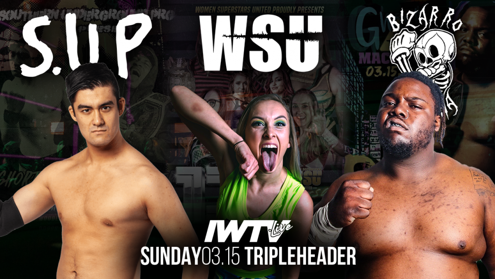 IWTV Triple Header coming in March