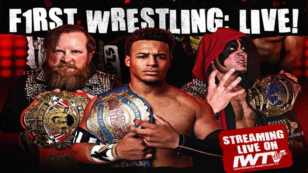 WARHORSE makes F1RST 2021 Independent Wrestling Championship Defense This Sunday LIVE on IWTV!