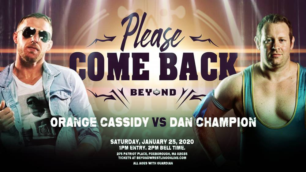 Beyond Wrestling's Please Come Back comes back Saturday afternoon on IWTV!