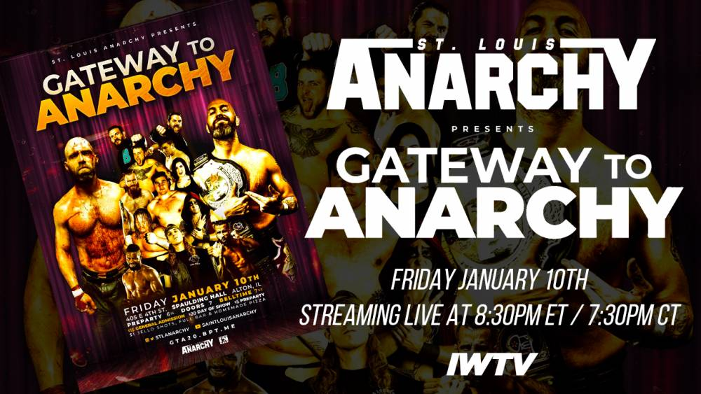 The Monarch vs The King - Jeremy Wyatt fights Nick Gage at St. Louis Anarchy's Gateway To Anarchy