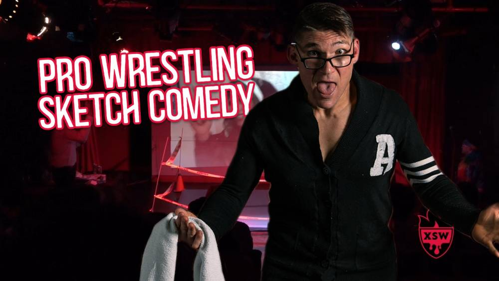 Sketch Comedy Group creates Pro Wrestling Themed Show!