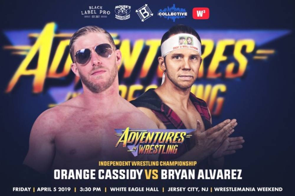 Orange Cassidy To Take On F4WOnline's Bryan Alvarez At Adventures In Wrestling
