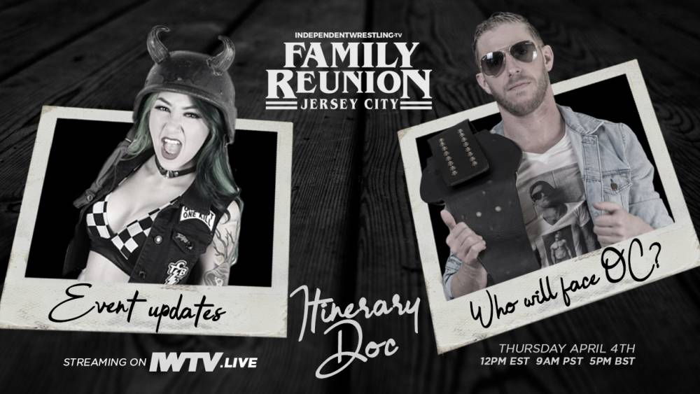 IWTV Family Reunion Itinerary