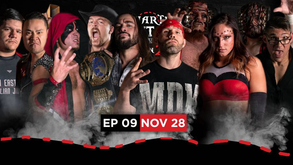 Pro Wrestling streams live on Thanksgiving night with Uncharted Territory!