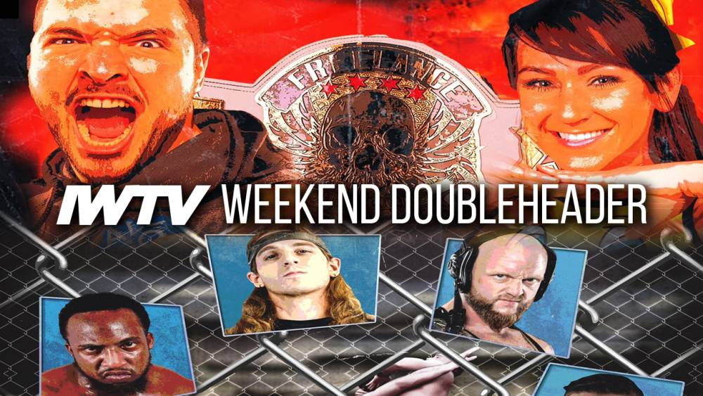 This Weekend On IWTV - Kylie Rae vs Ethan Page for the Freelance World Championship, Glory Pro's Steel Cage Challenge