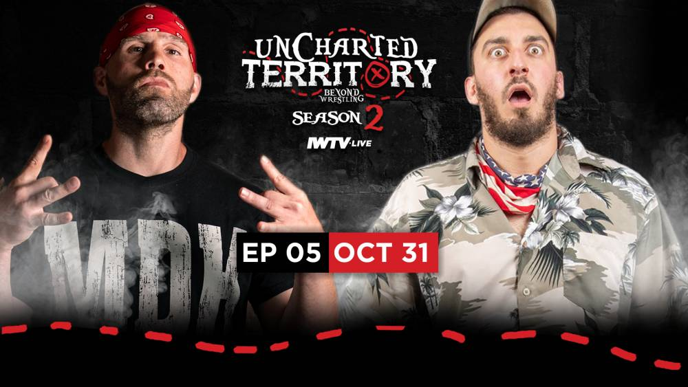 Uncharted Territory Halloween Special features 100,000 thumbtack death match!