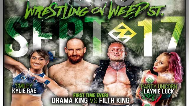"""PREMIERE: Zelo Pro """"Wrestling On Weed Street 2020"""""""