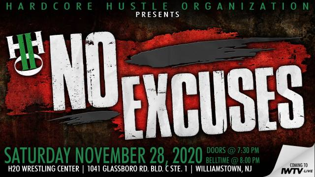 "LIVE: H2O Wrestling ""No Excuses"""