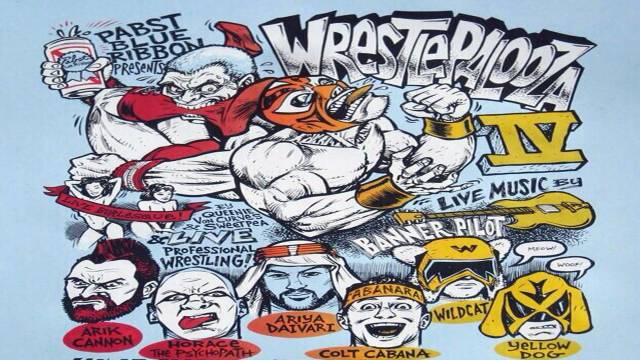 "THROWBACK THURSDAY PREMIERE: F1RST Wrestling ""Wrestlepalooza IV"""